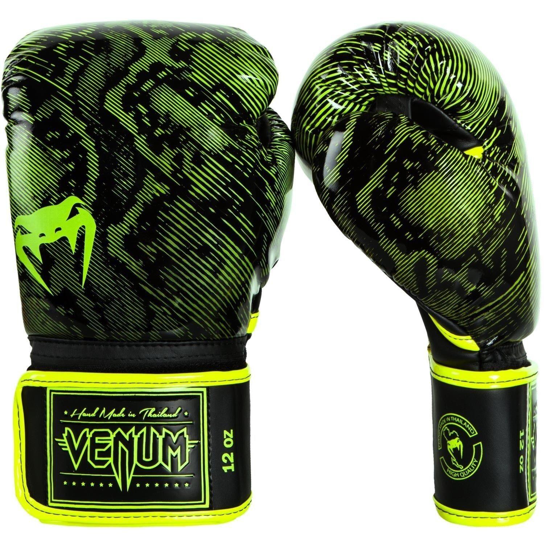 Venum Fusion Guantoni Da Boxe MMA BJJ GIALLO Muay Thai GIALLO BJJ - 12 OZ (ca. 340.19 g) 0f8663