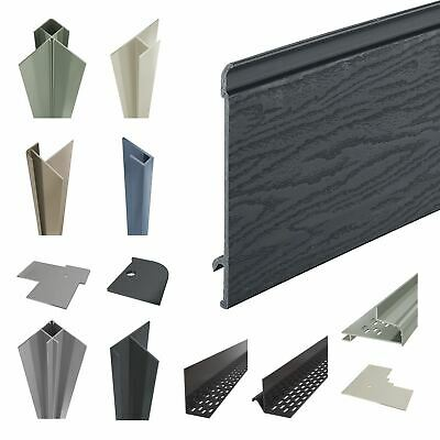 Coastline Shiplap Cladding Composite Board Grained Texture With Fire Retardant Ebay