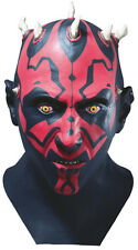 Star Wars Darth Maul Latex Adult Mask for Costume