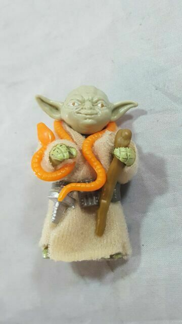 Yoda Belt Vintage Star Wars Accessory Kenner ESB! 1980 Empire Action Figure