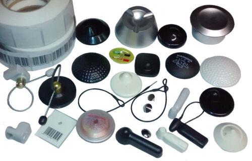 100 RF Hartetiketten X50 Ø50 8.2MHz Warensicherung Artikelsicherung superlock