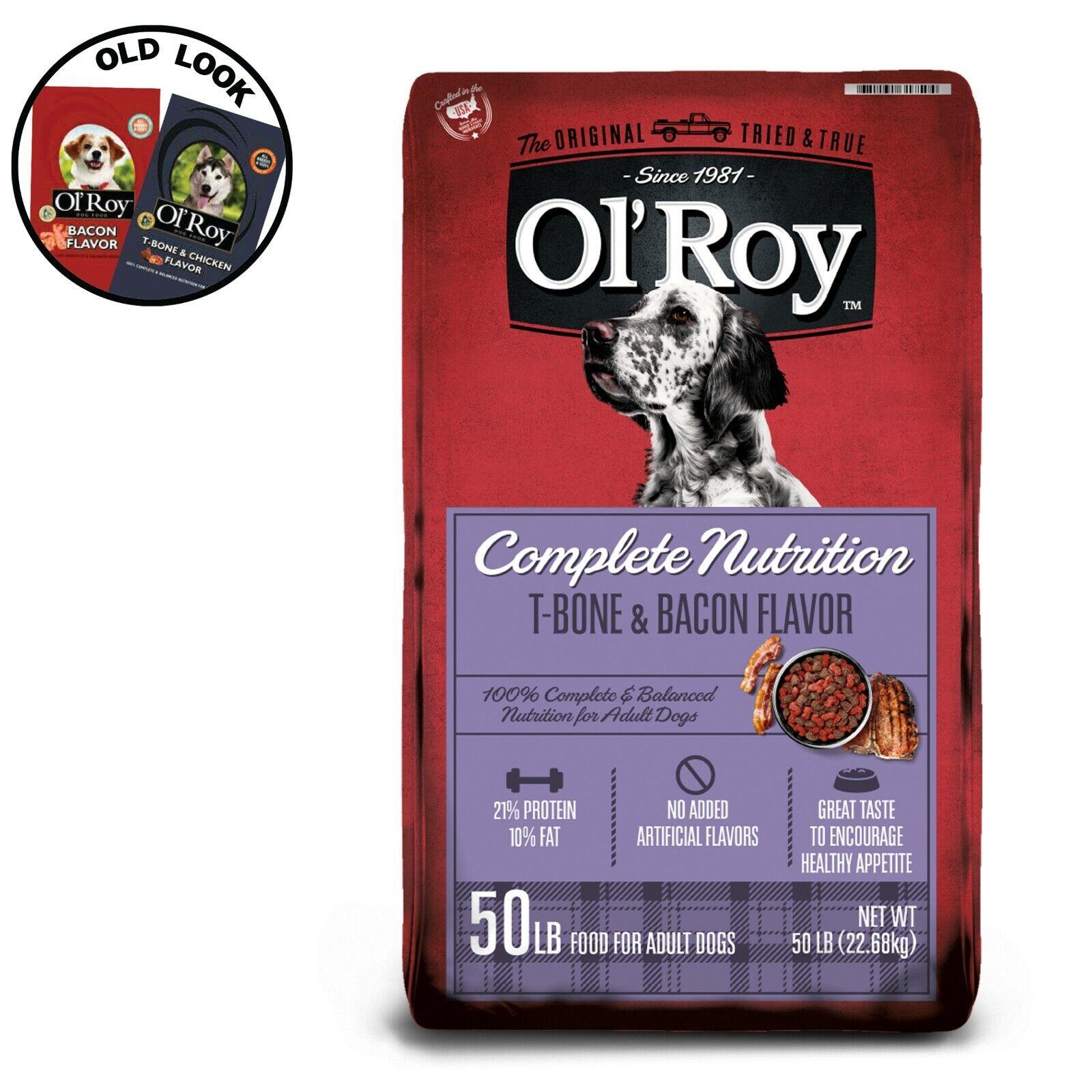 Ol Roy Complete Nutrition Dog Food 50 Lb 605388022875 For Sale Online Ebay