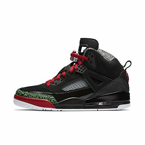 Nike JORDAN SPIZIKE Uomo Basketball Shoes 315371-026 Nero Green Red Sz 11.5