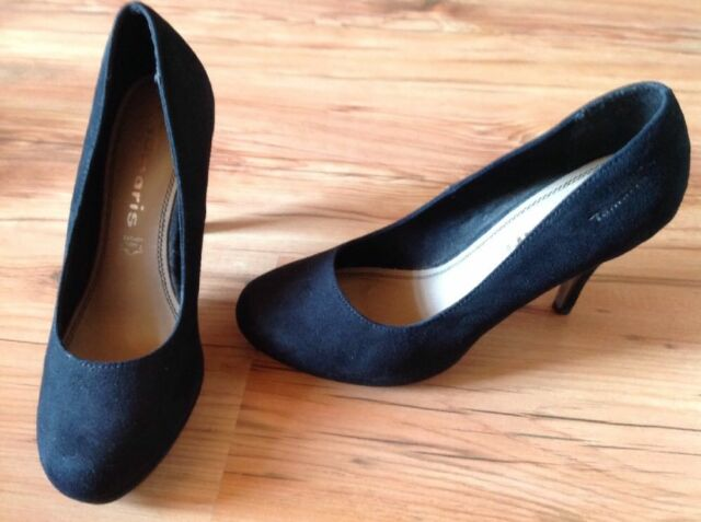 Tamaris PUMPS schwarz Gr.38 Top