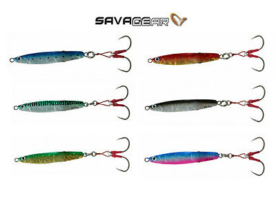 SAVAGE GEAR SLIM SQUISH ERRATIC JIGS 11CM 80G DIRTY SILVER//LUMO 2