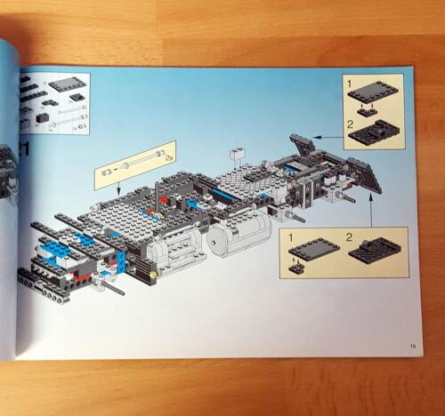 Lego 5571 Team Black Cat Truck Bauanleitung Sattelplatte Sitz Auswahl 102