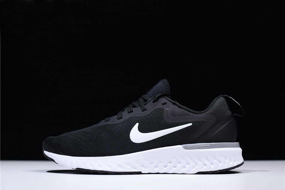 sale retailer d3db1 6b930 Nike Odyssey React Black Wolf Grey-White AO9819-001 Men s Men s Men s shoes.