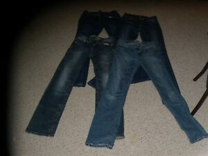 Lot-of-4-girl-039-s-jeans-excellent-condition-mostly-size-0