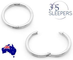 365-Sleepers-1-Pair-Solid-Sterling-Silver-Hinged-Hoop-Sleeper-Earrings-8mm-22mm