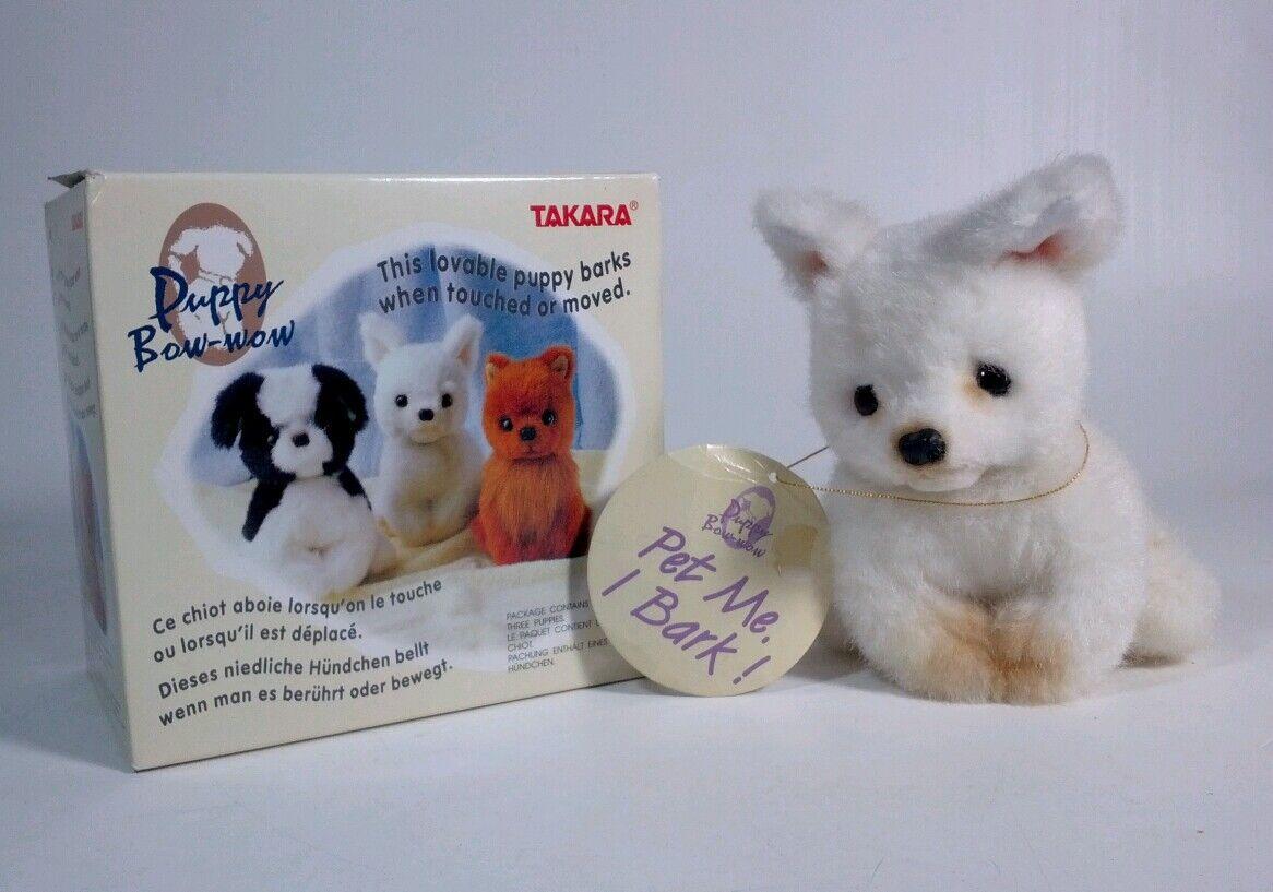 TAKARA Puppy Bow-wow Pomeranian  pet me, I bark  1992