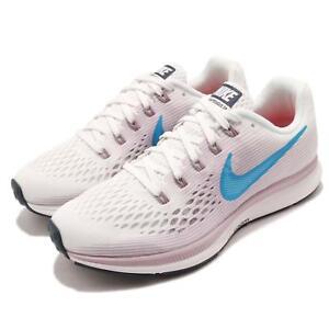 CoopéRative Nike Wmns Air Zoom Pegasus 34 Blanc Bleu Violet Femmes Chaussures De Course 880560-105-afficher Le Titre D'origine