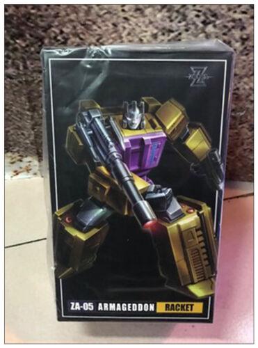 Transformers Zeta toys ZA-05 Armageddon RACKET G1 Swindle Toys New in Stock