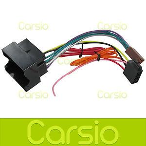 Vauxhall Agila ISO Lead Wiring Harness connector Stereo Radio ...