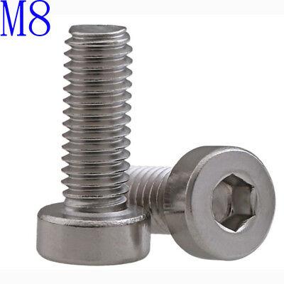 Pack of 25 Hex Brighton-Best International 538258 Socket Head Screw M16 x 2 mm Thread 60 mm Long 18-8 Stainless Steel