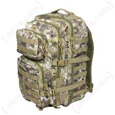 MANDRA Tan Camo MOLLE RUCKSACK Assault Large Bag 36L BACKPACK Tactical Pack New