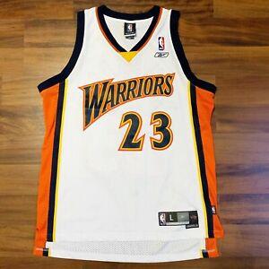 Details about Reebok NBA Golden State Warriors Jason Richardson Swingman Jersey Sz Large L