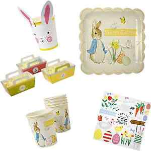 Easter-Party-Tableware-Plates-Cups-Napkins-amp-Lots-More-FAST-FREE-POSTAGE