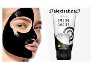 Oriflame Pure Skin Charcoal Peel Off Mask Ebay