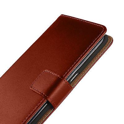 Book Case Handy Hülle aus PU-Leder für Microsoft Lumia Handy Tasche Schutz Hülle