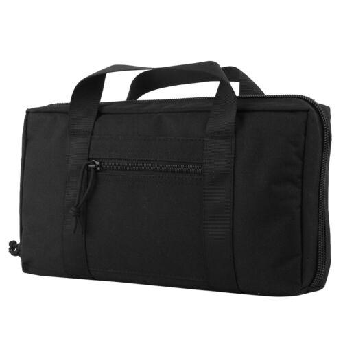 Tactical Pistol Holster Gun Protection Case Combat Carry Bag Shooting Handgun BK