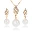Women-Heart-Pendant-Choker-Chain-Crystal-Rhinestone-Necklace-Earring-Jewelry-Set thumbnail 27