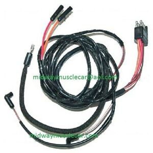 v8 engine gauge feed wiring harness 65 ford falcon 1965 260 289 image is loading v8 engine gauge feed wiring harness 65 ford