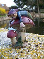 97131.2 Figurine Troll Dormeur Pixie Elfe Pixies Serie Des 7 Nains Farfadet