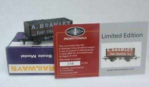 Dapol-OO-Gauge-5-Plank-Open-wagon-039-A-Bramley-039-Limited-Edition