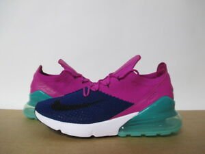 online store 80666 4c83d Image is loading NIKE-AIR-MAX-270-FLYKNIT-DEEP-ROYAL-BLUE-