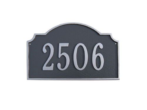 Vanderbilt 3 Sizes Address Plaque Lawn House Sign Numbers Wall Custom Made Order
