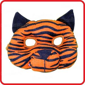 KIDS-CHILDRENS-CUTE-TIGER-CAT-KITTEN-MASK-ANIMAL-COSTUME-PARTY-DRESS-UP-COSPLAY