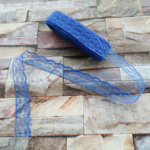 Wholesale 10 Yards Lace Ribbon Sewing 22MM Wide Lace Embroidered Trim Trimmings