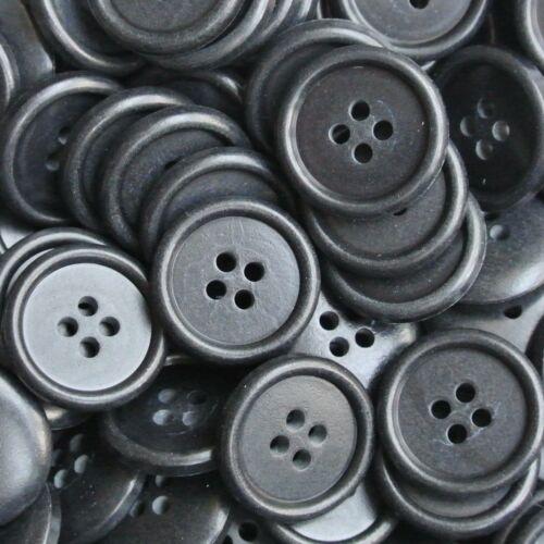 200 noir//bleu universel boutons à prix discount 9011sb-20mm