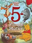 5-minute Winnie The Pooh Stories by Disney Book Group (Hardback, 2017)
