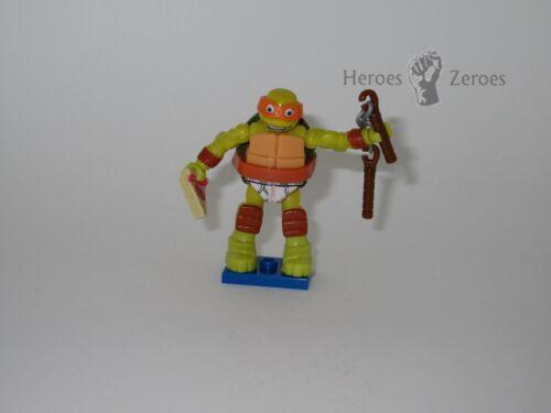 Teenage Mutant Ninja Turtles TMNT Mega Bloks Series 3 Pizza Mikey Michelangelo