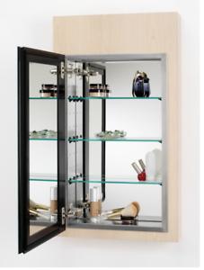 Magnificent Details About Alno Mc4550 Reflections 15 X 25 Single Door Recessed Medicine Cabinet Home Remodeling Inspirations Gresiscottssportslandcom