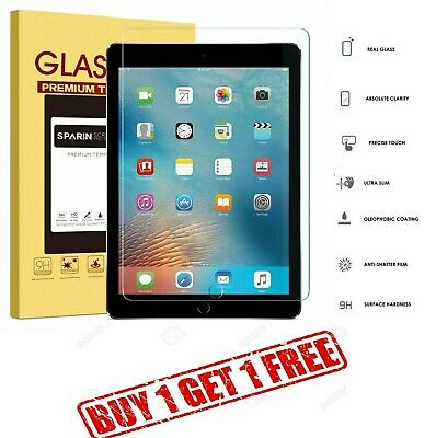 100% Genuine Tempered Glass Screen Protector For Apple Ipad Mini 1,2,3 Buy1 Get1 Komplette Artikelauswahl