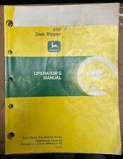 John Deere 510 Disk Ripper Operator Manual Omn200444 E5 W 3