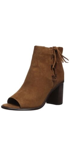 Frye Women's Brown Amy Side Ghillie Boot