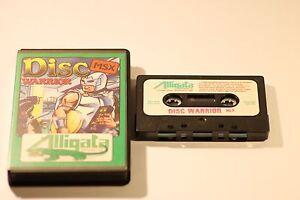 RARE-SONY-MSX-GAME-DISC-WARRIOR-BY-ALLIGATA-CASSETTE-GAME-1984