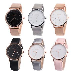 Women-Fashion-Gift-Stainless-Steel-Band-Analog-Quartz-Wristwatch-Vintage-Watch