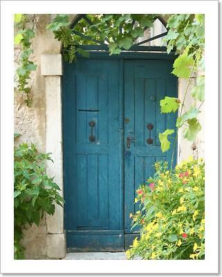 Vintage Medieval Door Spanish Art//Canvas Print Poster Home Decor Wall Art