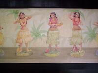 Hula Dancer / Tropical Border 102b
