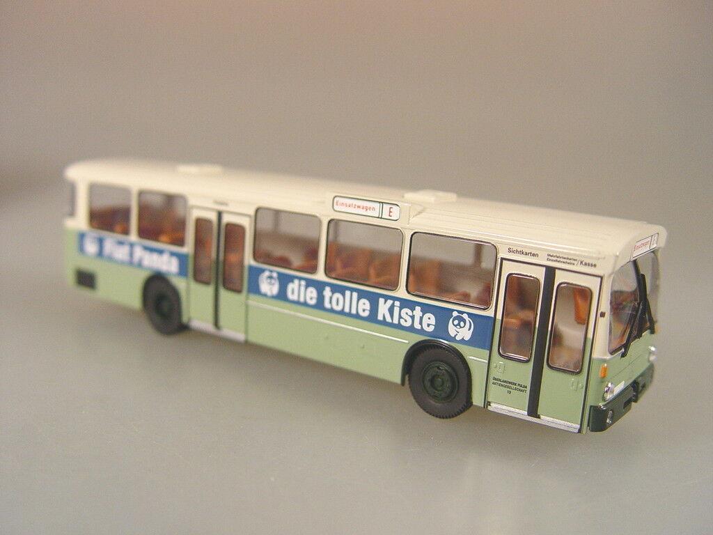 Mercedes Stadtbus VÖV 0305  Fiat Panda  - Brekina 1 87 - 50716  E  | Treten Sie ein in die Welt der Spielzeuge und finden Sie eine Quelle des Glücks