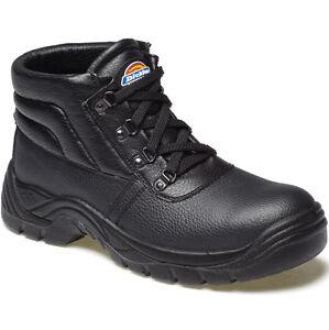 Dickies-Redland-Botas-de-Proteccion-con-Puntera-Acero-UK-11-Ue-45-FA23330-Negro