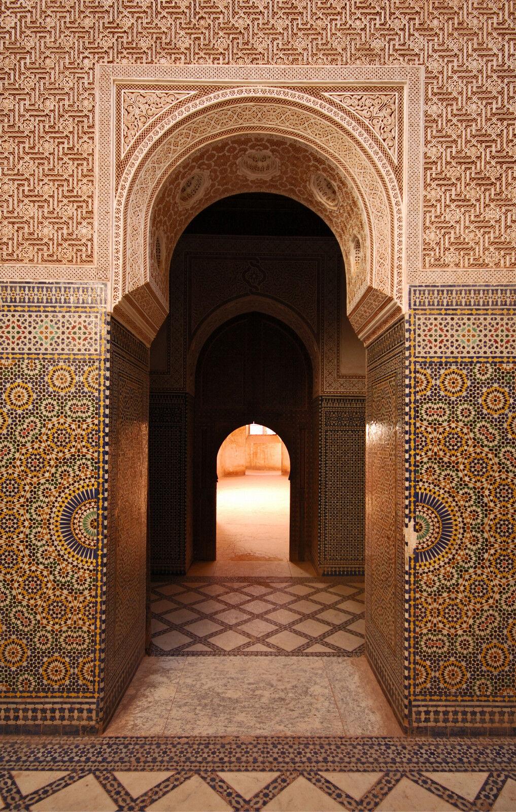Adhesivo Pared Puerta Palacio Oriental 180x260cm Ref 150