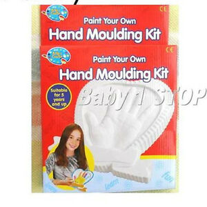 Make-Your-Own-amp-Paint-Your-Own-Hand-Moulding-Set-Craft-Art-Kit-Set-Age-5-years