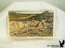 Open Pit Iron Ore Mine Mesabi Iron Range Hibbing MN Hull-Rust Litho PC