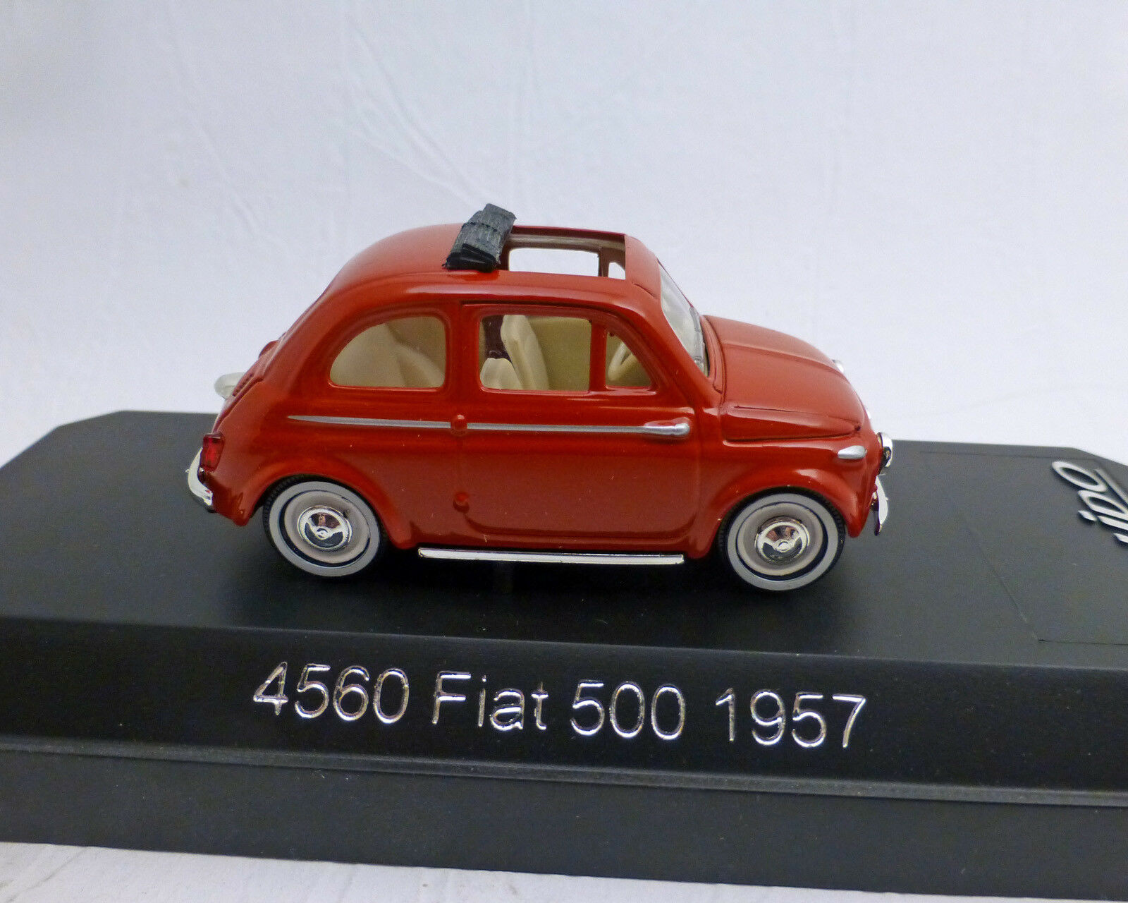 Fiat 500 ,1957, red, 1 43, SOLIDO