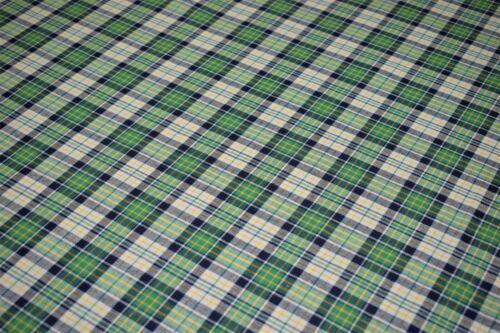 150 cm Wide Premium Yarn Dyed Cotton Fabric Material Tartan Check Print Design